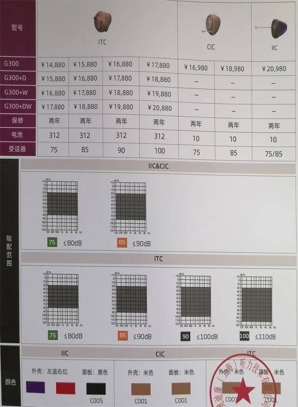 亿启听G300定制机